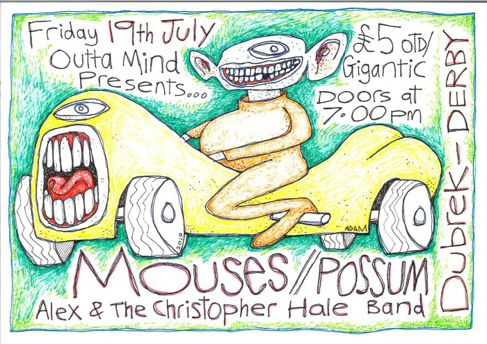 Mouses, Possum & Alex and The Christopher Hale Band at Dubrek Studios