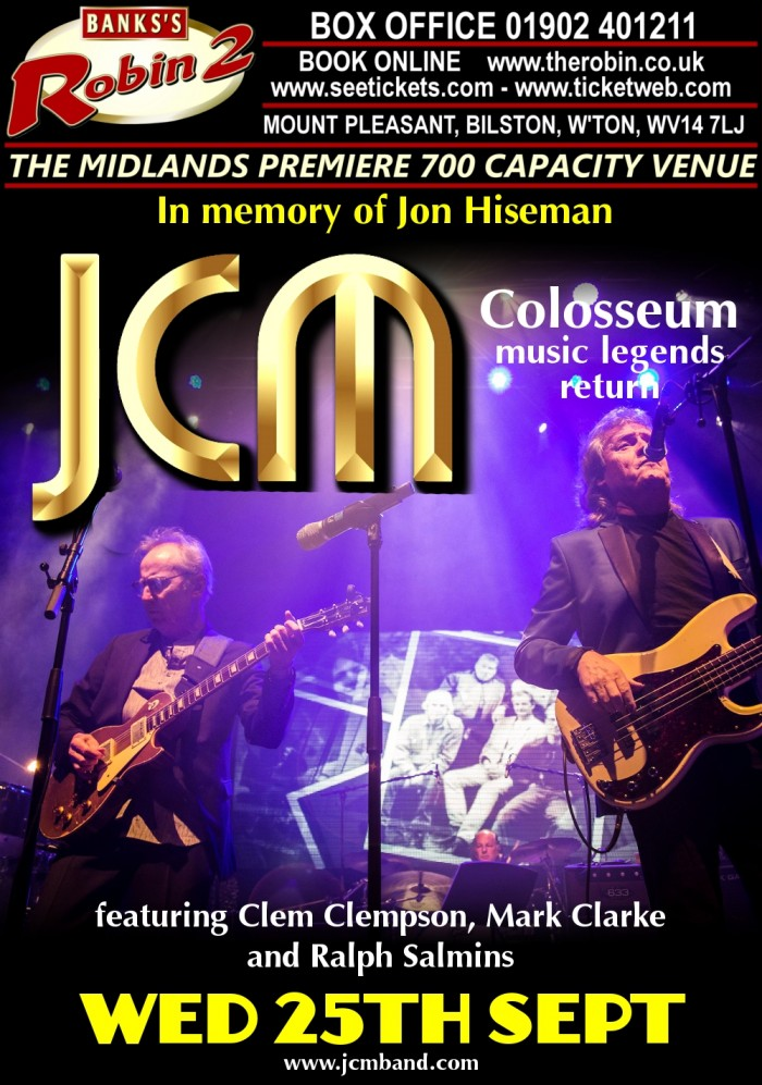 JCM featuring Clem Clempson, Mark Clarke and Ralph Salmins