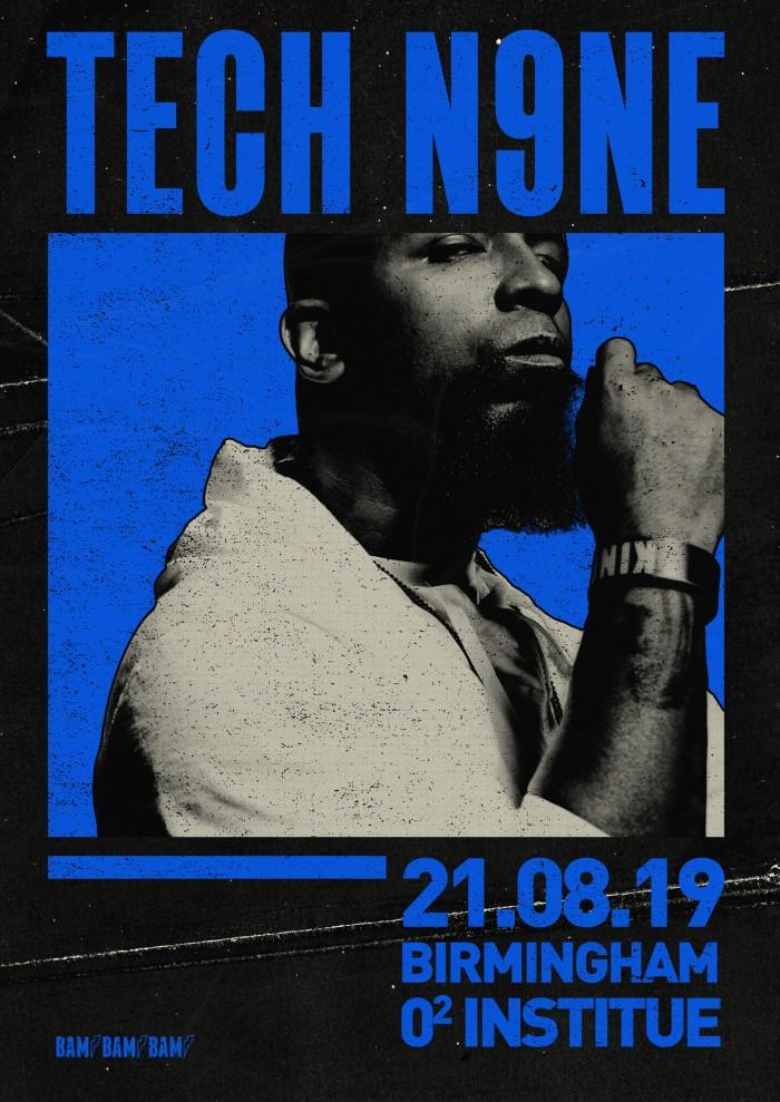 TECH N9NE - Debut Tour