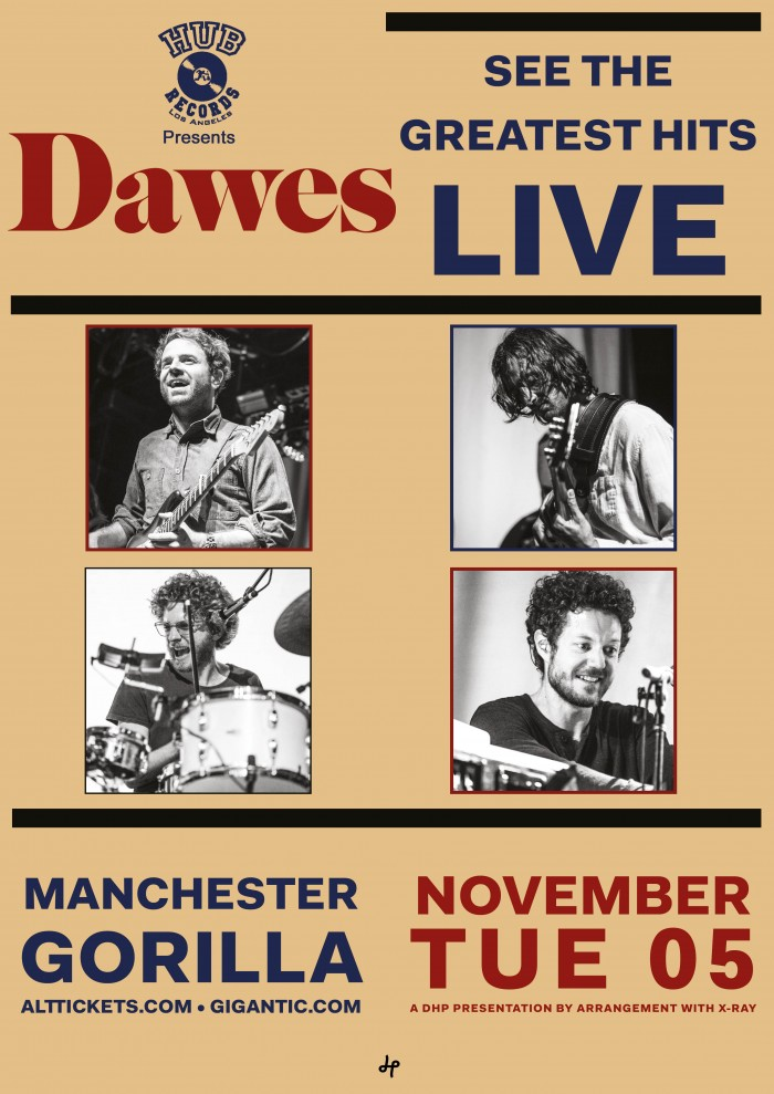 dawes tickets gorilla manchester 05 11 2019 19 30. Black Bedroom Furniture Sets. Home Design Ideas