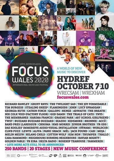 Focus Wales - Standard Festival Passes
