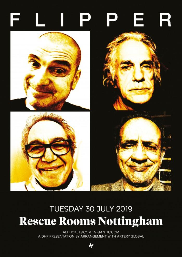Flipper - 40th Anniversary Tour With David Yow & Mike Watt