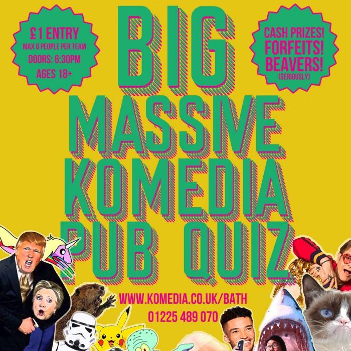 The Big Massive Komedia Quiz