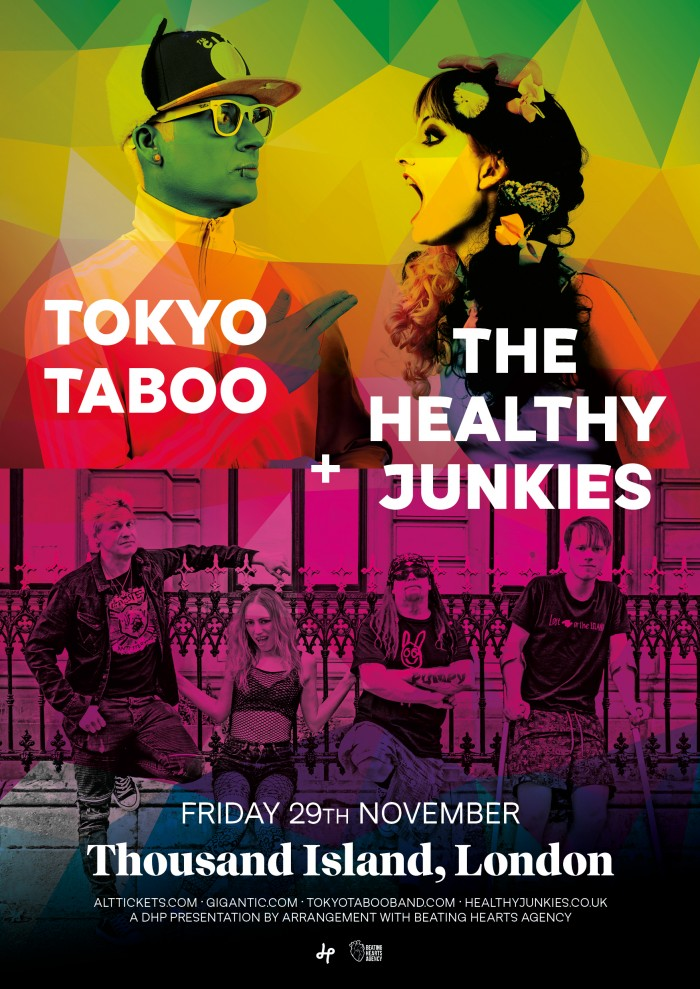 Tokyo Taboo and the Healthy Junkies