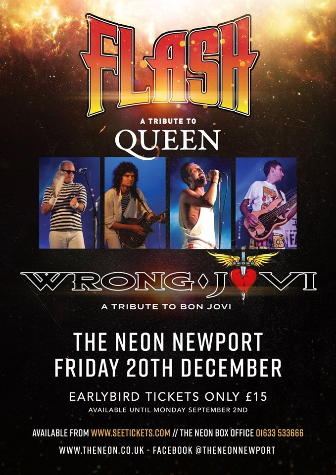 FLASH: A Tribute to Queen + Wrong Jovi: A Tribute to Bon Jovi