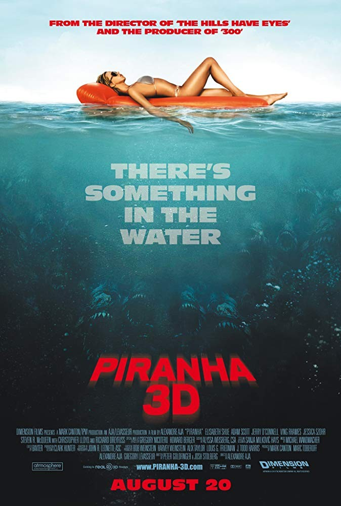 Fortune & Glory Film Club Presents: Piranha 3D (Scalarama 2019)