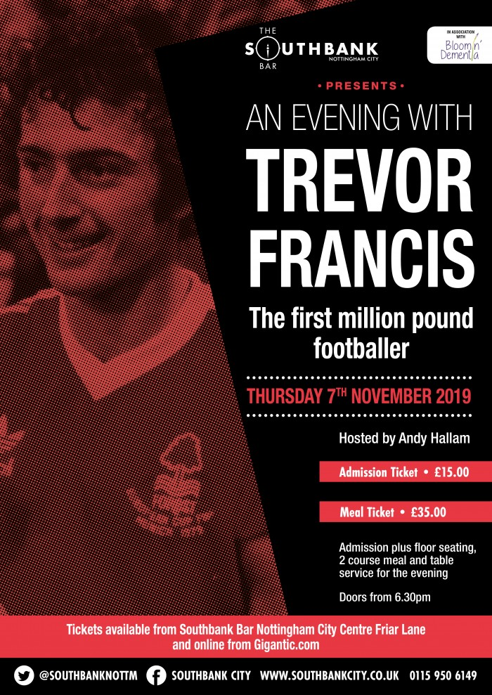 An Evening with Trevor Francis