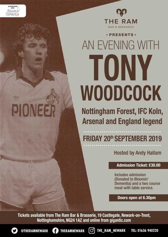 An Evening with Tony Woodcock