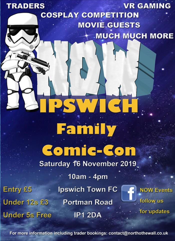 NOW Ipswich Family Comic-Con
