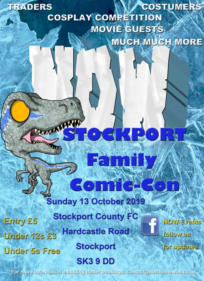 NOW Stockport Family Comic-Con