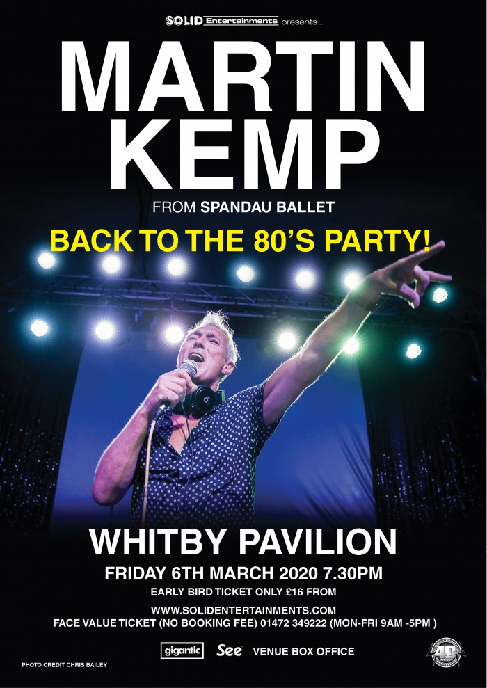 Martin Kemp: Back To The 80s Party!