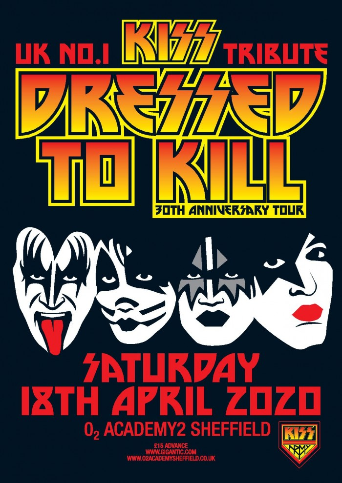 Dressed To Kill - The UK's Nr. 1 KISS Tribute