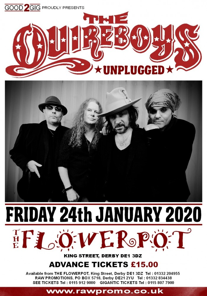 The Quireboys: Unplugged