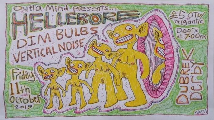 Hellebore, Dim Bulbs & Vertical Noise at Dubrek Studios