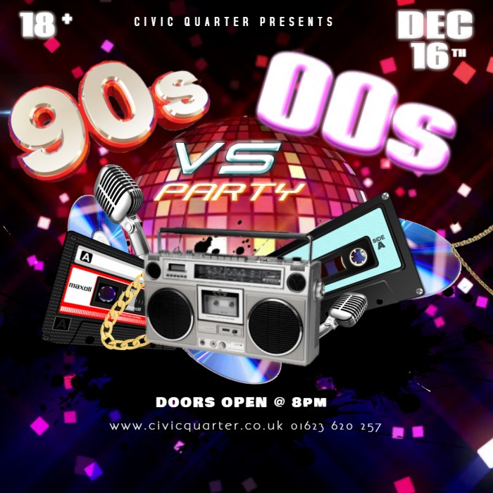 Ultimate  90's VS 00's Party