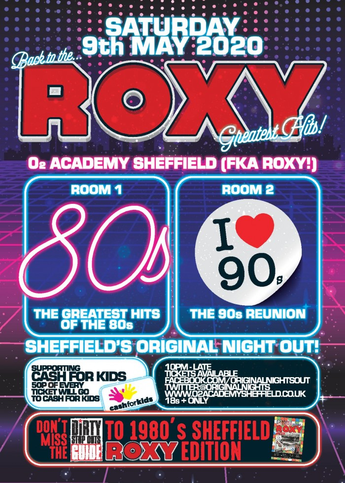 Back To The Roxy - 80's - The Greatest Hits