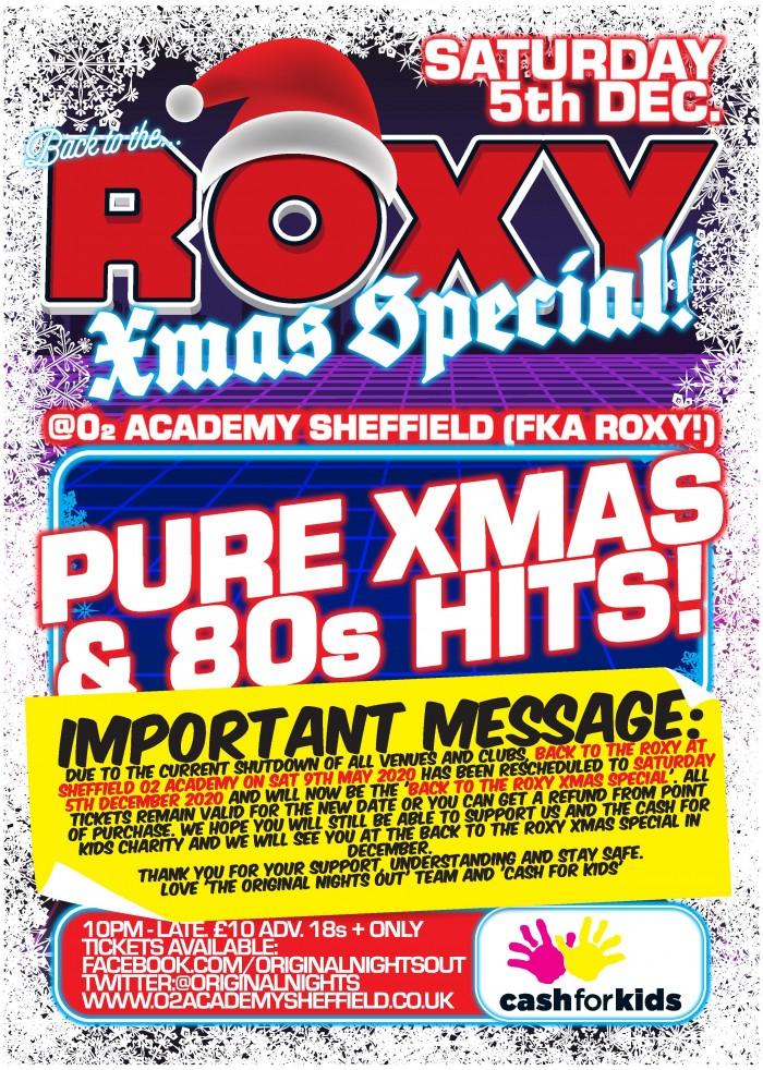 Back To The Roxy: Xmas Special
