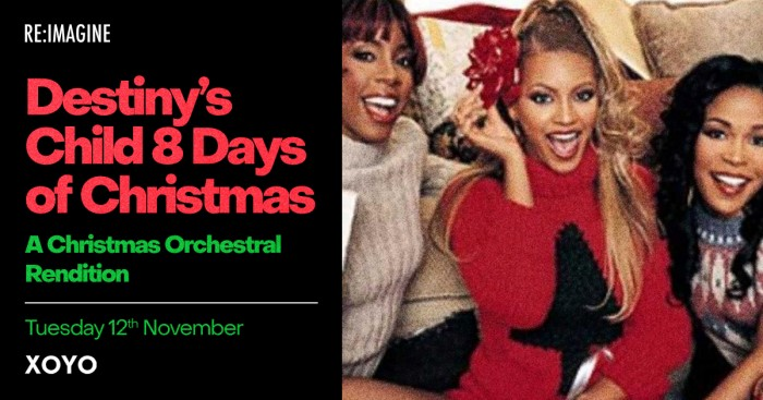 Destiny's Child 8 Days Of Christmas: A Merry Orchestral Rendition