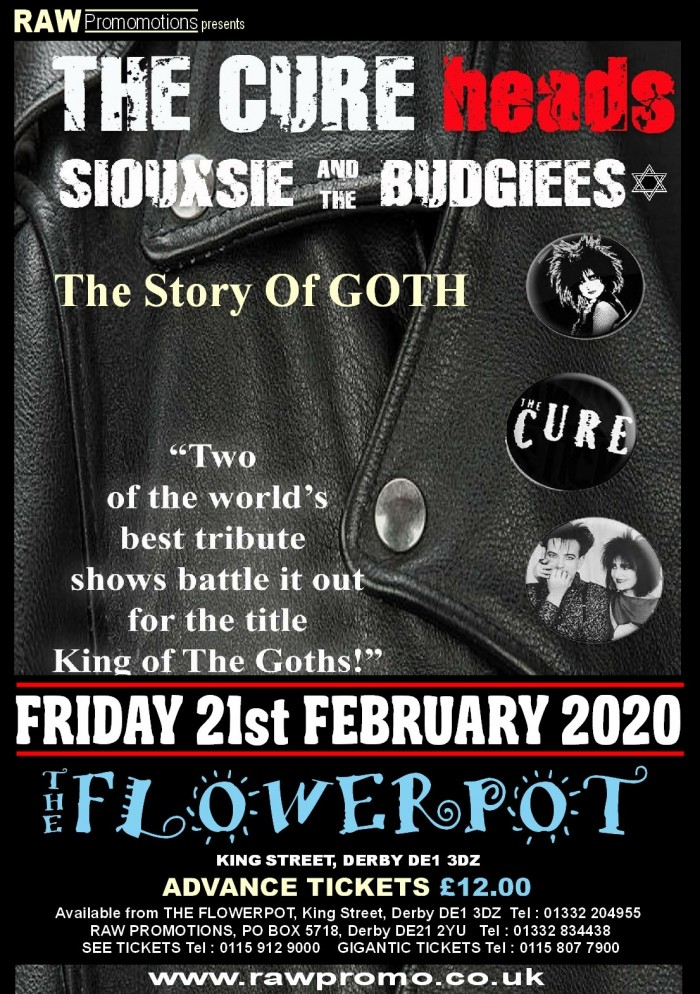 The Story of Goth- The Cure vs The Banshees