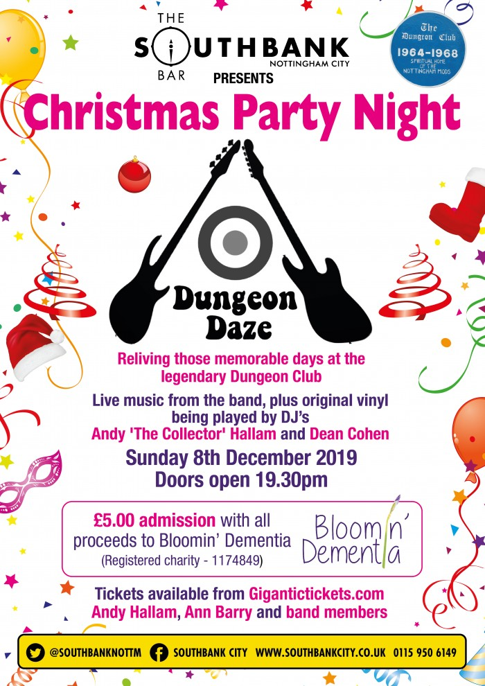 Dungeon Daze Christmas Party Night