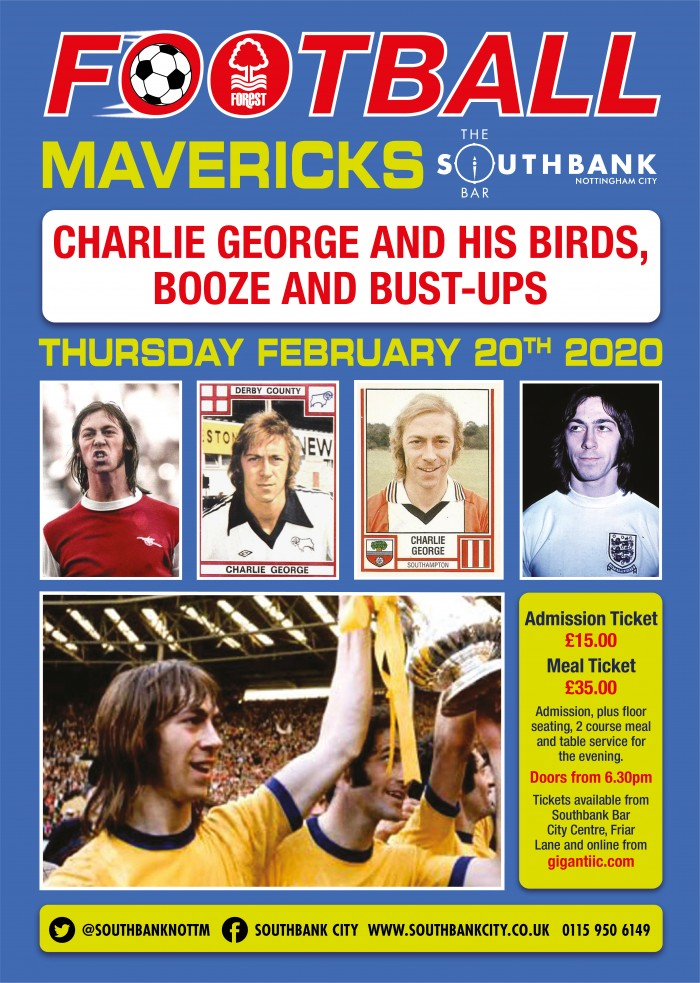 Football Mavericks - An Evening with Charlie George