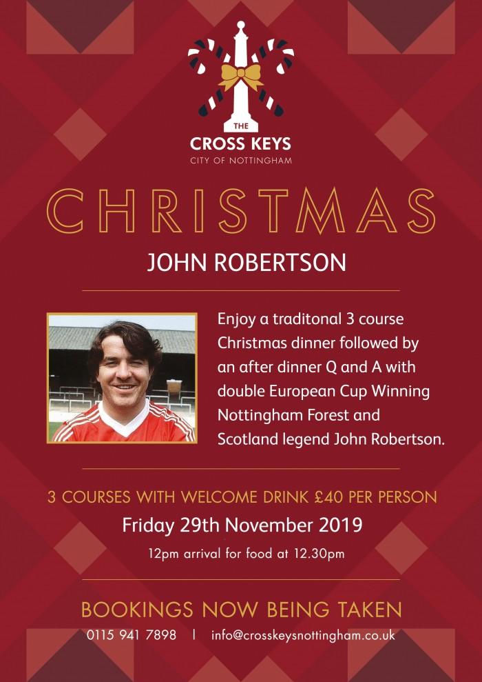Christmas with John Robertson Lunch