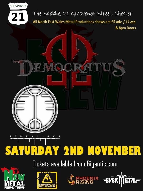 New Metal at the G21: Democratus, Dimensions