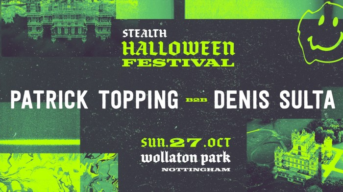 Stealth Halloween Festival II: Patrick Topping b2b Denis Sulta (4 Hour Set)