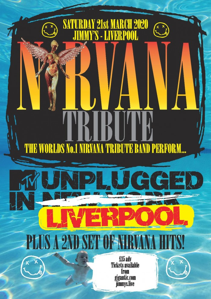 Nirvana Tribute perform MTV 'Nirvana Unplugged in New York' Plus Hits