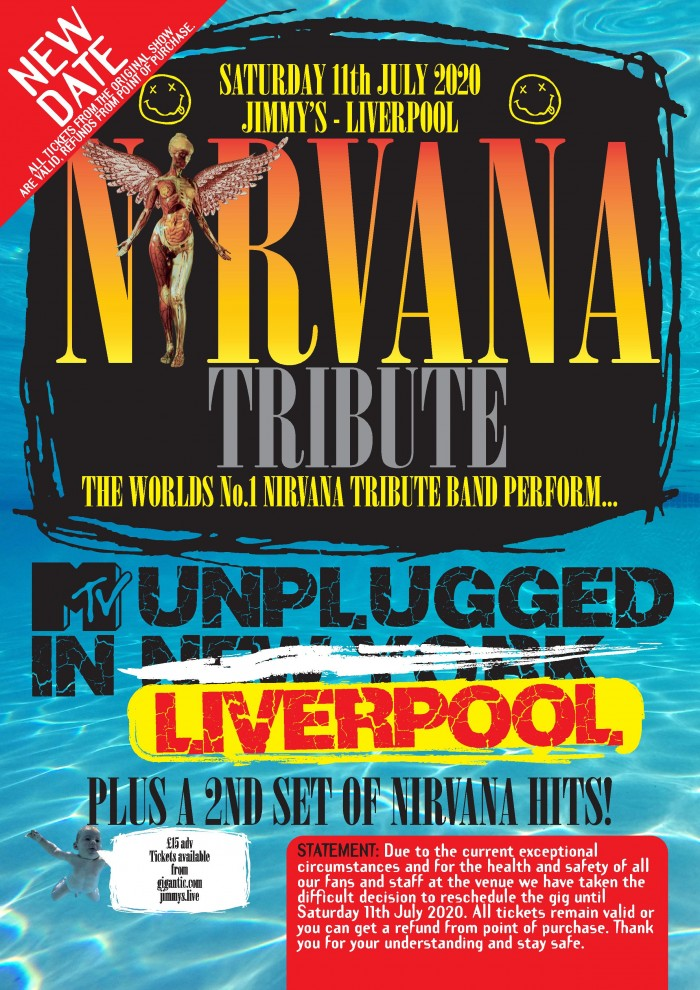 Nirvana Tribute perform MTV 'Nirvana Unplugged in New York' Plus Hits