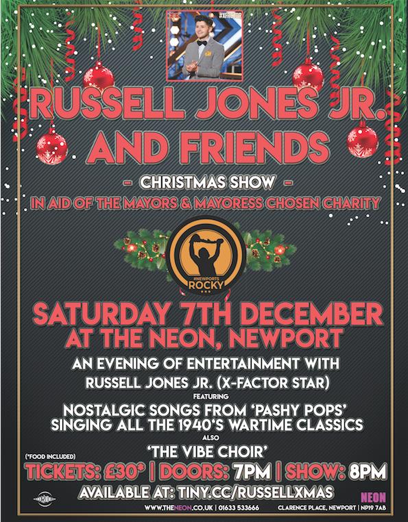 Russell Jones Jr. + Friends Christmas Show