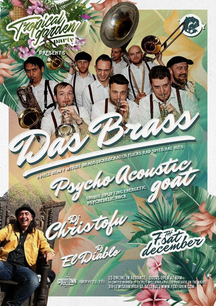 Tropical Garden Party Presents: DAS BRASS
