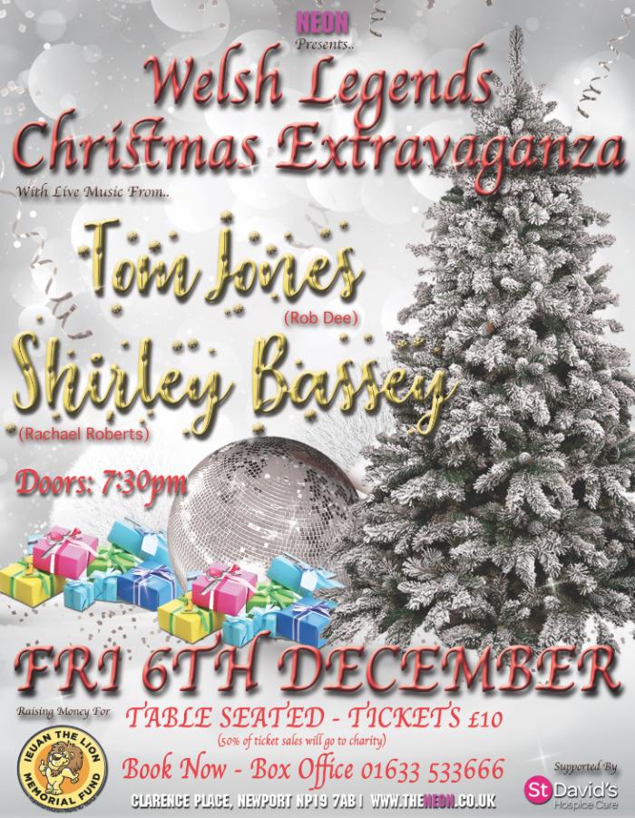 Welsh Legends Christmas Extravaganza