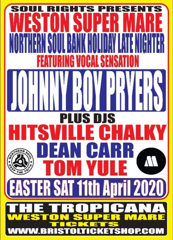 Western Super Mare Northern Soul Late Nighter
