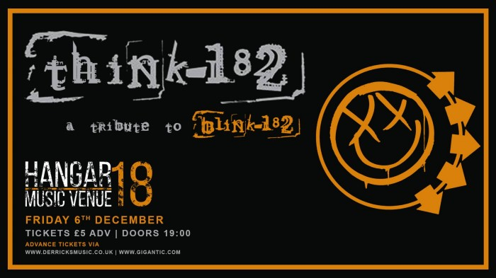 Think182 - A Tribute to Blink182 Xmas Show