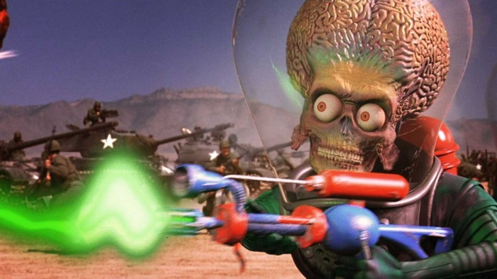 Fortune & Glory Film Club Presents: Mars Attacks!