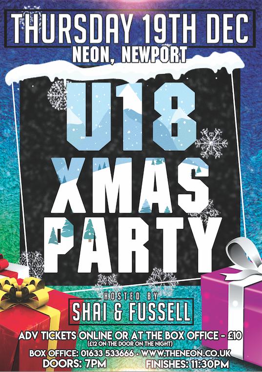 Neon U18 - Xmas Party