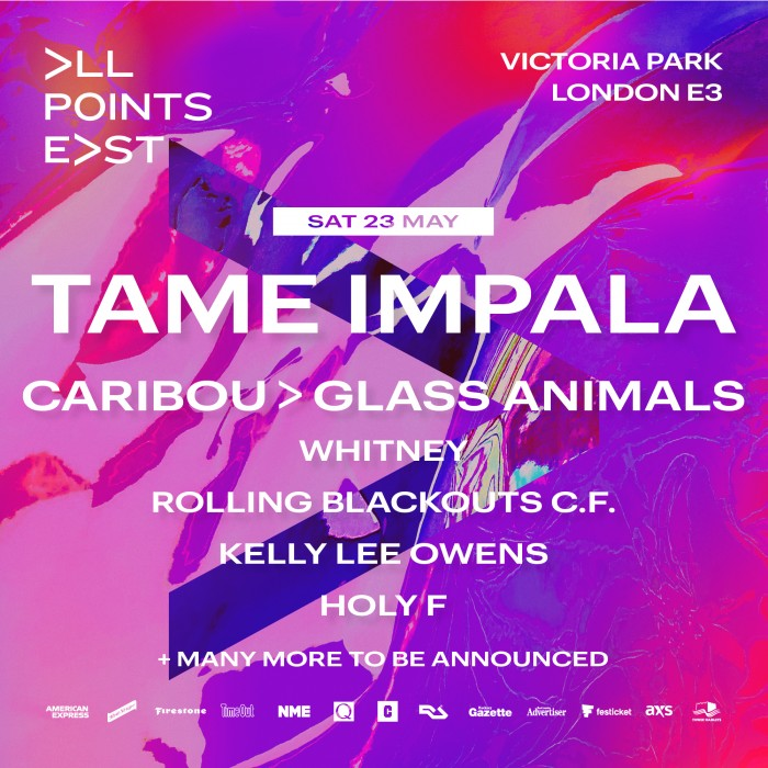 All Points East: Tame Impala