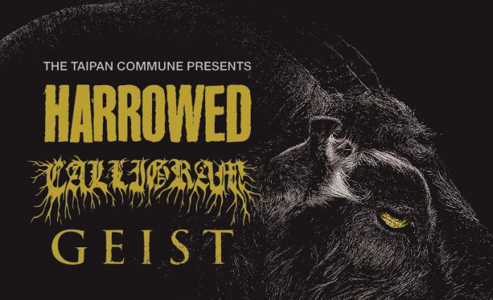 Harrowed / Calligram / Geist