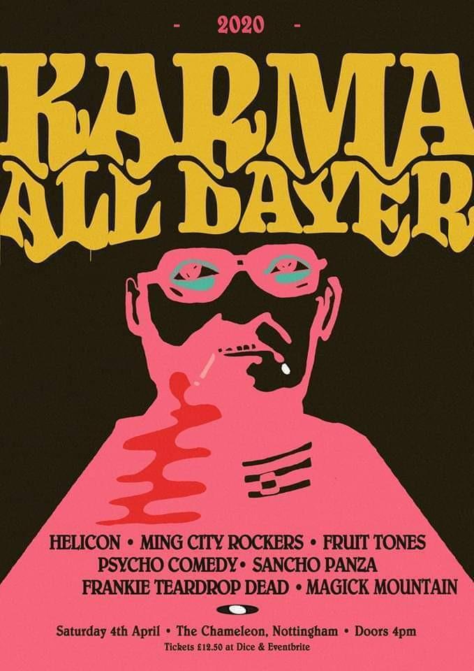 Karma All Dayer - Helicon