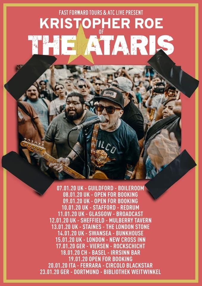 Kris Roe of The Ataris