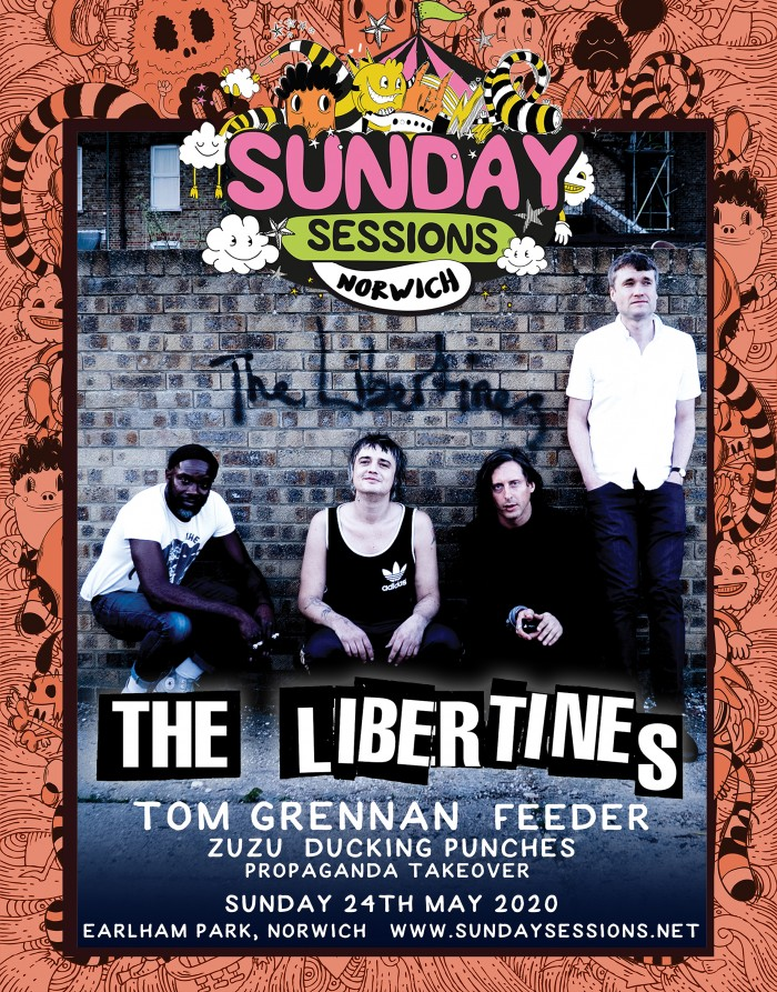 Sunday Sessions Norwich - The Libertines