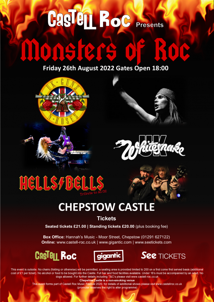 MONSTERS OF ROCK - Castell Roc