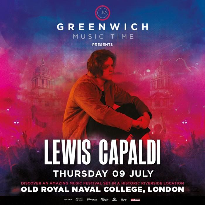 Greenwich Music Time - Lewis Capaldi