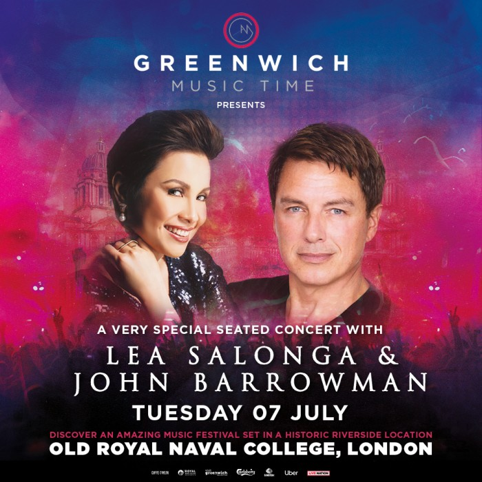 Greenwich Music Time - Lea Salonga & John Barrowman