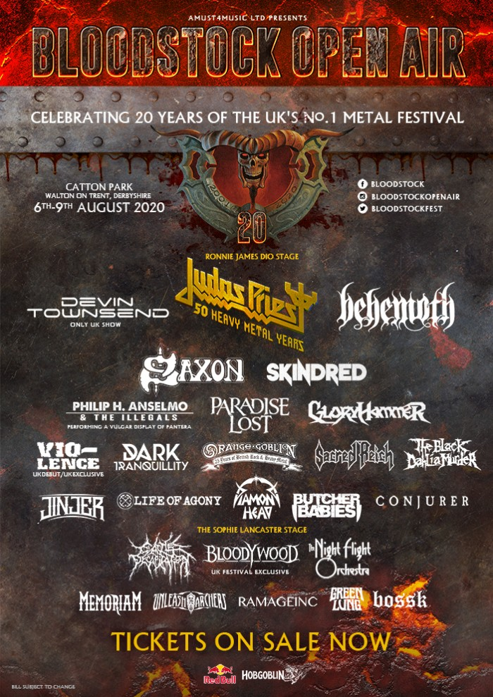 Bloodstock Open Air - celebrating 20 years