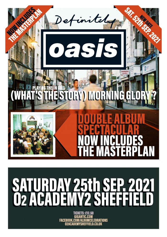 Definitely Oasis perform What's The Story Morning Glory? in it's entirety