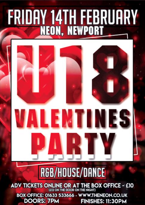 Neon U18 - Valentines Party
