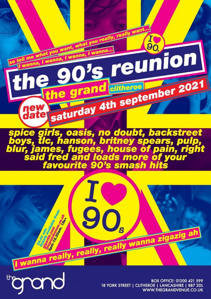 The 90's Reunion Clubnight