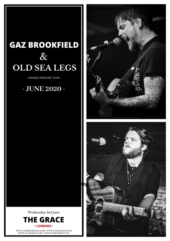 GAZ BROOKFIELD & OLD SEA LEGS